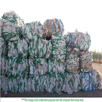 20,000 Pounds of Baled Super Sacks Scrap Clean and A Grade for Sale