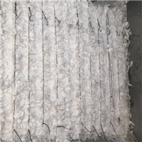 Supplying 40,000 lbs PP White Non Woven Scrap in Bales with very small % of PET