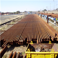 8000 MT Used Railway Steel for sale