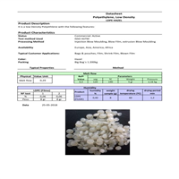 GPY-04 LDPE Repro Pellets Natural 100 MT for Sale