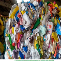 Mixed Color HDPE Bottles Scrap for Sale
