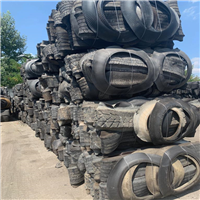 Supplying 4000 Tons Baled 3 Cut Tyre Scrap