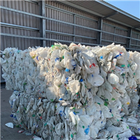 Offering 500 Tons Natural HDPE Milk Bottles Scrap in Bales @ 280 €
