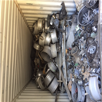 Exporting 500 Tons Aluminum Alloy Wheel Scrap