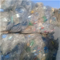 Offering 100 MT PET Bottle Scrap 90:10 in Bales