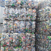 RR3166D 120000 lbs A Grade PET Soda Bottles Scrap Available in Bales for Sale