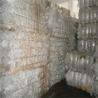 Post Commercial Clear LDPE Film Scrap 48 Tons per Month for Sale