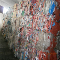 200 MT Mixed Color LDPE Film Scrap Hand Sorted for Sale