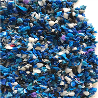 Available 40 MT HDPE Blue Drum Regrind from Factory Waste