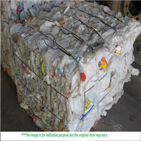 100 Tons HDPE Milk Bottle Scrap for Sale