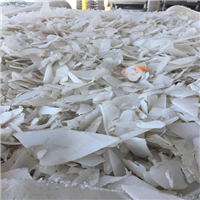 Monthly Supply: RR3962A 80000 lbs Natural HMW HDPE Regrind washed IBC