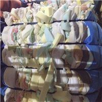 600 MT PU Foam Scrap in Bales for Sale