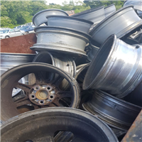 Supplying 34 MT Aluminium Wheel Rims Scrap @ 1330 USD