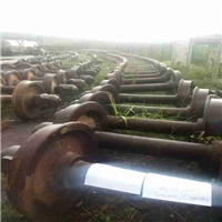 Supplying 1300 Tons Used Rail Wheel Scrap