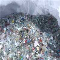 Supplying Crushed and Unwashed PET Bottle Flakes with Label in Big Bags