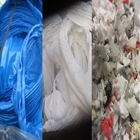 Mixed Color LDPE Film Regrind and Mixed Color Chunks LDPE Lump POST-INDUSTRIAL for Sale