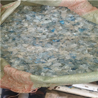 50 MT per Month Cold Wash Clear and Mix Light Blue PET Flakes for Sale @ 380 USD