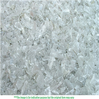 Hot wash PET Flakes Transparent, Green and Brown Color Available for Sale