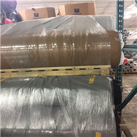 RR4022A 40,000 lbs Cloth backed PVC Fabric Scrap on Rolls for Sale