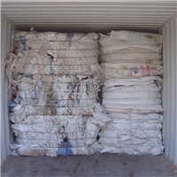8 Containers of Clean Post Commercial PP Bags Scrap in Bales for Sale @ 310 Euro