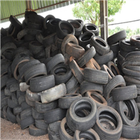 Offering 100 Tons Used Tyre Scrap Monthly