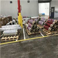 80000 Lbs RR3785A Printed Mixed 70% LDPE, 20% PA, 10% EVOH Film for Sale