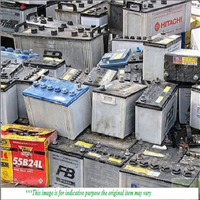 600 Tons Automobile Battery Scrap for Sale