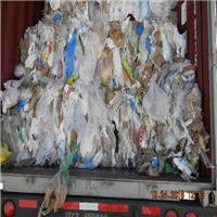 5 Loads RR3487E 80/20 HDPE/LDPE Grocery Film Scrap in Bales for Sale per Month