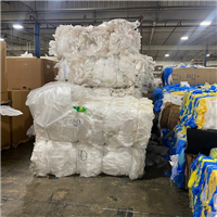 Offering RR3914G 40,000 lbs LDPE Clear Grade A film in Bales