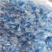 Monthly Supply 150 MT Blue Hot Washed PET Flakes