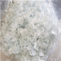 GRS Monthly supply : 200 Tons PET Flakes Clear and Blue Hot Washed