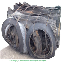 Scrap Tire Bales 1x40 for Sale