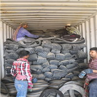 Offering 200 Tons Cut Tyre Scrap