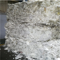 Pre-Consumer White Tissue Waste 300 Tons for Sale