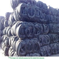 25 MT Rubber Tyre Scrap for Sale in Bales
