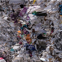 Mixed Colored Waste Paper Scrap for Sale @ 210 US $