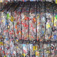 500 Tons Clear and Colored PET Bottle Scrap for Sale