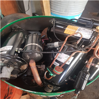 Black Fridge Compressor Motor Scrap 25 Tons for Sale