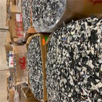 RR4034A 40,000 lbs Computer/Printer/Mixed Shredded Electronic Plastic Scrap for Sale