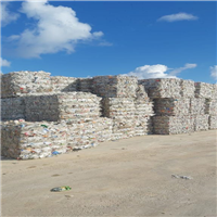 Offering 100 tons Clear PET Scrap Bales