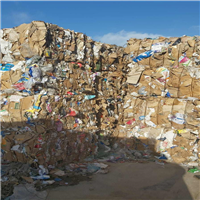 Baled Cardboard Scrap 100 MT for Sale