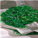 100 Tons Hot Washed Green PET Flakes for Sale @ 490$