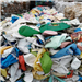 120,000 lbs HDPE Milk Bottle Scrap for Sale in Bales